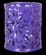 Подставка для ручек, BAROCCO, металлическая, фиолетовая