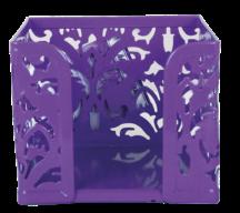Бокс для бумаг, BAROCCO, металлический, фиолетовый