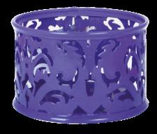 Подставка для скрепок, BAROCCO, металлическая, фиолетовая