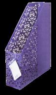 Лоток вертикальный, BAROCCO, металлический, фиолетовый