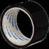 /Клейкая лента упаковочная, 48 мм x 35 м, черная, по 6 шт.
