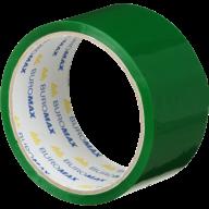 /Клейкая лента упаковочная, 48 мм x 35 м, зеленая, по 6 шт.