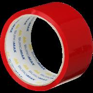 /Клейкая лента упаковочная, 48 мм x 35 м, красная, по 6 шт.