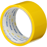 /Клейкая лента упаковочная, 48 мм x 35 м, желтая, по 6 шт.