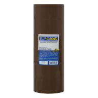 /Клейкая лента упаковочная, 48 мм x 90 м, коричневая, по 6 шт.