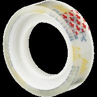 Клейкая лента канцелярская, 12 мм х 10 м, прозрачная, инд.упаковка