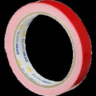 /Клейкая лента JOBMAX, 18 мм х 2 м, двухсторонняя, на пенной основе