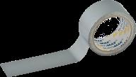 /Клейкая лента упаковочная, 48 мм x 10 м, прочное крепление, серебристая, по 1 шт.
