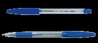 ^$Ручка шариковая CLASSIC GRIP, 0,7 мм, пласт.корп., рез.грип, синие чернила