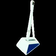 @$Ручка шарик. на подставке WHITE MIX DeskPen, L2U, 0,7 мм, синие чернила