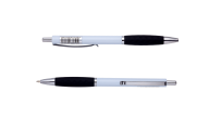 @$Ручка шариковая автоматическая COLOR GRIP, 0,7 мм, черный грип, синие чернила