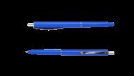 ^Ручка шарик.автомат.COLOR, L2U, 1 мм, синий корпус, синие чернила