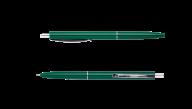 ^Ручка шарик.автомат.COLOR, L2U, 1 мм, зеленый корпус, синие чернила