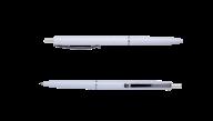^Ручка шарик.автомат.COLOR, L2U, 1 мм, белый корпус, синие чернила