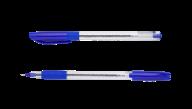 ^Ручка масляная SLIDE GRIP, 0,5 мм, рез. грип, трехгр.корпус, синие чернила