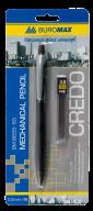 @$Карандаш механический CREDO и сменные стержни  в карт.блистере, 0,5 мм, пласт.корпус