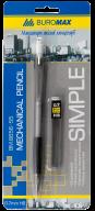 @$Карандаш механический SIMPLE и сменные стержни  в карт.блистере, 0,7 мм, пласт.корпус