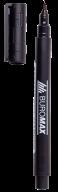 Маркер водостойкий, черный, 1мм, спиртовая основа
