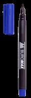 #Маркер водостойкий, синий, 1мм, спиртовая основа