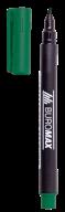 #Маркер водостойкий, зеленый, 1мм, спиртовая основа