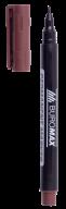 #Маркер водостойкий, коричневый, 1 мм, спиртовая основа