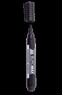 Маркер водостойкий, черный, 1-4,6мм, клиноподобный наконечник
