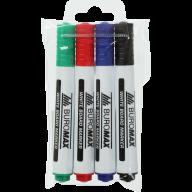 ^$Набор из 4 маркеров для магн. досок (черн., син., зел., красн.)