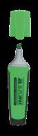 Текст-маркер флуор. с рез. вставками, зеленый