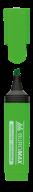 @Текст-маркер, зеленый, 2-4 мм, водная основа, флуоресцентный