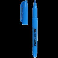 #^Текст-маркер, синий, JOBMAX, 2-4 мм, водная основа, круглый