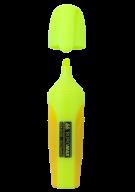 Текст-маркер NEON, желтый, 2-4 мм, с рез.вставками