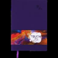 Блокнот деловой TOUCH ME, L2U, А5, 96 л., нелинов., фиолетовый, иск.кожа