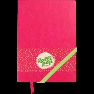 Блокнот деловой LOLLIPOP, L2U, А5, 96 л., нелинов., розовый, иск. кожа