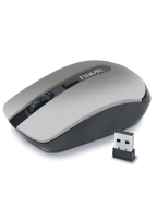 /Мышь HV-MS989GT, беспроводная USB, серебряная, HAVIT