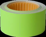 Ценник 30x40 мм, (150 шт, 4.5 м),  прямоугольный, внешняя намотка, желтый