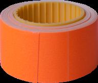Ценник 30x40 мм, (150 шт, 4.5 м),  прямоугольный, внешняя намотка, оранжевый