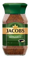 /Кофе растворимый 190г, сткл.б, JACOBS MONARCH