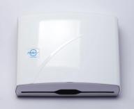 /Диспенсер для бумажных Z-полотенец, 245x95x225, белый Solaris