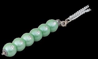 """@$Ручка шариковая """"Secret"""", с кристаллами, зеленый, в подарочном футляре"""