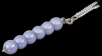 """@$Ручка шариковая """"Secret"""", с кристаллами, фиолетовый, в подарочном футляре"""