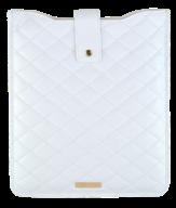 """@$Чехол для планшета  """"Tracery"""" 21х25.8х1см, белый ( 9,7"""" включительно)"""