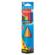 Карандаши цветные COLOR PEPS Classic, 12 цветов + точилка