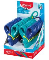 Ножницы детские KidiPulse, 120мм, дисплей, сине-голубой