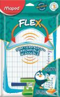 Доска для рисования Shatterproof с комплектом, двусторонняя, блистер