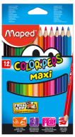 Карандаши цветные COLOR PEPS Jumbo, 12 цветов