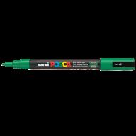 Маркер uni POSCA 0.9-1.3мм, зеленый