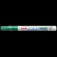 Маркер uni PAINT 0.8-1.2мм, зеленый
