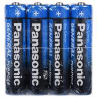 @/Эл.питания (батарейка) Panasonic GENERAL PURPOSE ZINK-CARBON LR3 (АAA)