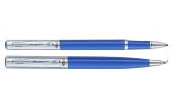 Комплект (Ш+Р) в подарочном футляре L, синий