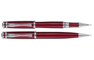 Комплект (Ш+Р) в подарочном футляре L, красный